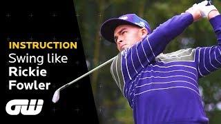 Swing Like Rickie Fowler   Coaching Anna   Golfing World