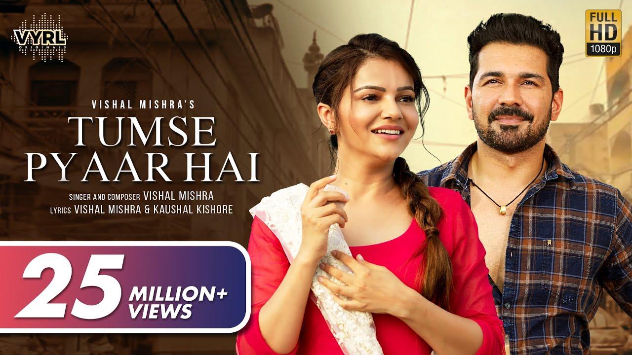 Tumse pyaar hai Lyrics in English by Vishal Mishra is brand new Hindi song sung by Vishal Mishra featuring Rubina Dilaik, Abhinav Shukla. Tumse Pyar Hai song lyrics