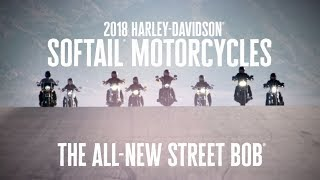 The All-New 2018 Harley-Davidson Street Bob | Harley-Davidson