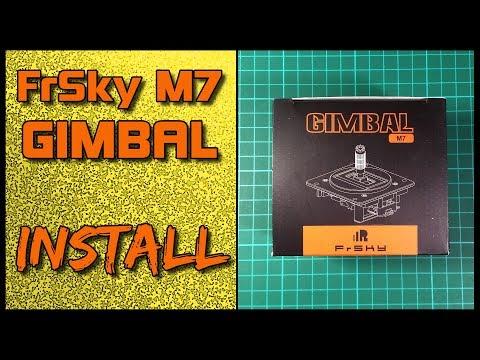 Frsky M7 Hall Sensor Gimbal installation