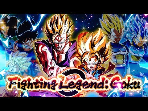 LR GOHAN AND GOTEN Sibling's Bond Team vs Fighting Legend: Goku Event! | DBZ Dokkan Battle TIPS