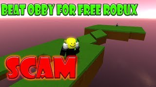roblox obby gives you 10k free robux (may 2019) no password