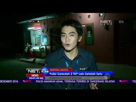 Live Report Kondisi Terkini Penggerebekan Kontrakan Terduga Teroris di Tangerang Selatan - NET24