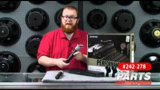 Shure PG288/PG58 Dual Handheld Wireless Mic System