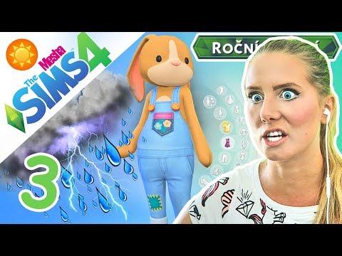 PŘEPADLA NÁS OBŘÍ BOUŘE + NOVÉ OBLEČENÍ ● The Sims 4 - ROČNÍ OBDOBÍ 03