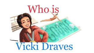 Who is Vicki Draves and why Google celebrated her with a doodle | kidz candy  IMAGES, GIF, ANIMATED GIF, WALLPAPER, STICKER FOR WHATSAPP & FACEBOOK