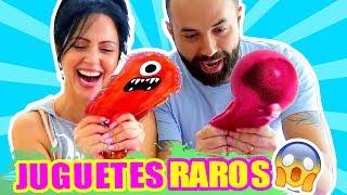 ABRIENDO JUGUETES RAROS Ft El Pipi - PLAY SandraCiresArt