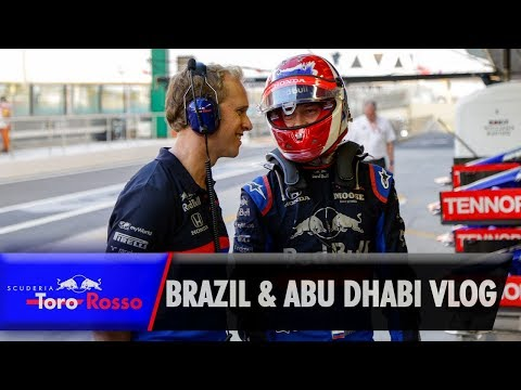 Image: Watch: Daniil Kvyat's Abu Dhabi and Brazilian Grand Prix vlog