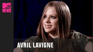 Avril Lavigne Before Sk8er Boi In First MTV Interview (2001) | #TBMTV