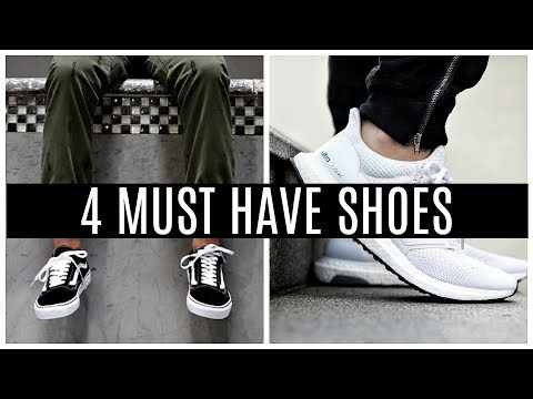 4 SHOES EVERY GUY MUST HAVE | Sneakers Men Should Own Mp3
