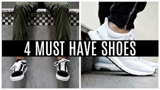 4 SHOES EVERY GUY MUST HAVE   Sneakers Men Should Own