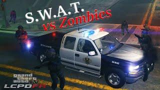 Swat vs Zombies 2015 (part 1) -- LCPDFR 1.0d -- S2:E14