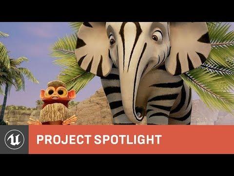 Zafari: Using Unreal Engine for broadcast TV — polycount