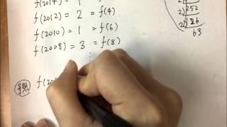 話題の一行問題東大数学2015第5問2015Cmが偶数