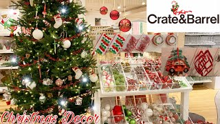 Christmas Decorations At Crate & Barrel 2019  🎄 || Christmas Ornaments 🎅 || Holiday Edition