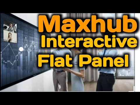 LED MAXHUB Touch Display, Size: 75