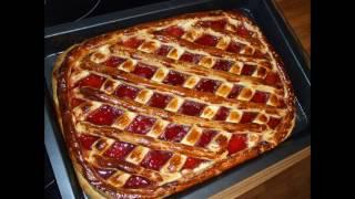 Дрожжевой пирог рецепт