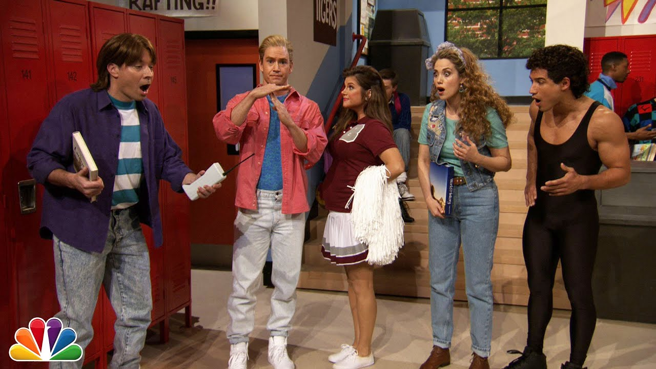 """Jimmy Fallon Went to Bayside High with """"Saved By The Bell"""" Cast thumbnail"""