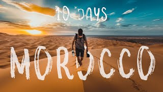 Gambar cover 10 days in MOROCCO