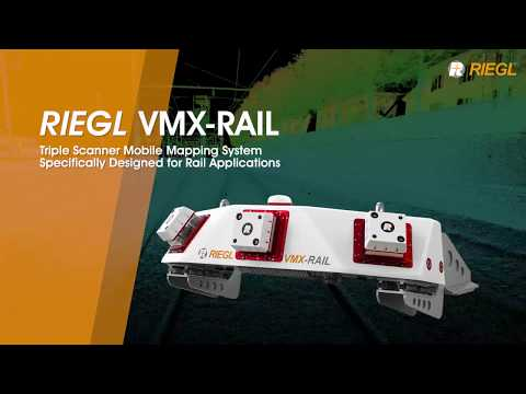The RIEGL VMX-RAIL Triple Scanner Mobile Mapping System!