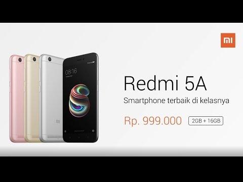Redmi 5A - Smartphone Terbaik Di Kelasnya