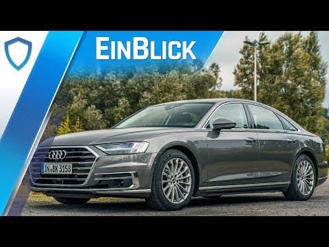Audi A8 55 TFSI quattro (2021) - Heimlicher Gewinner im Oberklasse-Vergleich? Test & Review