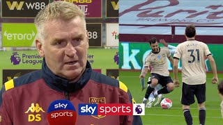 Dean Smith slams 'disgraceful' VAR decision for Manchester United penalty | Post Match