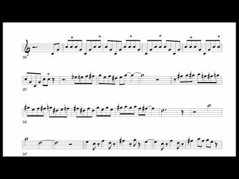 "Dexter Gordon's ""Red Cross"" transcription"