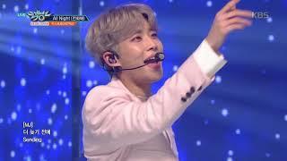 뮤직뱅크 Music Bank - All Night (전화해) - 아스트로(ASTRO).20190118