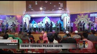 TANYA JAWAB , TANGGAPAN DAN MENANGGAPI (BAGIAN 1) Debat Calon Bupati-Wakil Bupati Abdya