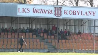 Kibice podczas meczu Victoria Kobylany - Zorza Łęki Dukielskie