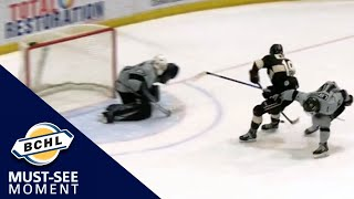 Must See Moment: Carter Wilkie wins it for West Kelowna in the final minutes