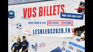 Informations Billetterie Euro 2020