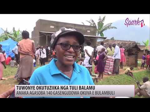Abakosebwa okubumbulukukka kw'ettaka batandise okusengulwa