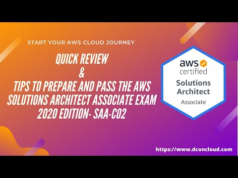 Quick Review & Tips for Passing AWS Solutions Architect Associate ...