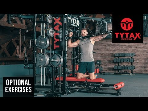TYTAX® T1-X (Opt. PR) | Kneeling Cable Lever Lateral Raise