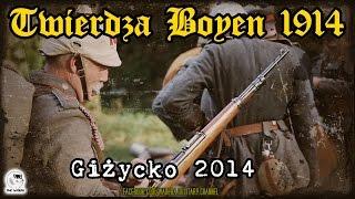 preview picture of video 'Twierdza Boyen 1914 - Giżycko 2014 - WW1 Reenactment'