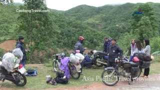 preview picture of video 'Cao Bang - Nguyen Binh - Bao Lac Motorbike tour ride- Travel Discovery with www.CaoBangTravel.com'