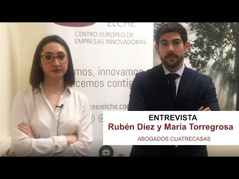 Entrevista a María Torregrosa y Rubén Díez, abogados de Cuatrecasas[;;;][;;;]