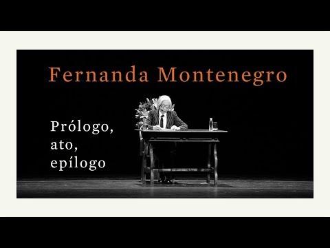 Fernanda Montenegro no Theatro Municipal de São Paulo | Lançamento de Prólogo, ato, epílogo
