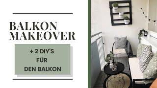 Balkon Makeover | Pflanzenhalterung und Beistelltisch DIY | LOTSOFDOTS