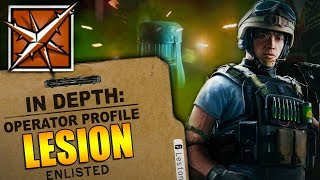 Rainbow Six Siege - In Depth: HOW TO USE LESION - OPERATOR PROFILE