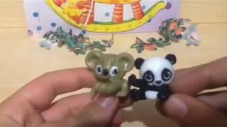 Животные в листьях 2018 (Versteckspiel im Bambus) EN203-EN204+сценка