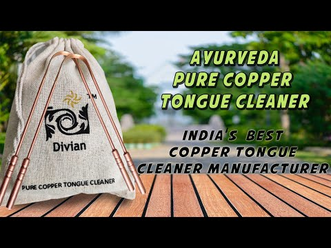 Divian Pure Copper Tongue Cleaner