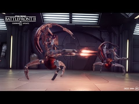 Star Wars Battlefront II: Where are those Droidekas? — Community Update