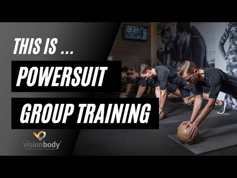VisionBody EMS Group Power Driven Training