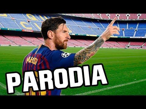 Canción de Messi (Parodia Secreto - Anuel AA, Karol G)