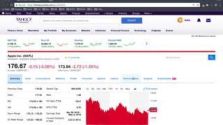 How To Get Historical Data From Yahoo Finance