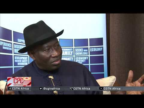Goodluck Jonathan: Chinese model of development an inspiration to Africa