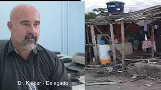Delegado fala da investigação do caso do acampamento São João em Prado